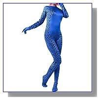 Women's Magical Fancy Cosplay Zentai Jumpsuit Bodysuit Suit for Halloween Costume M