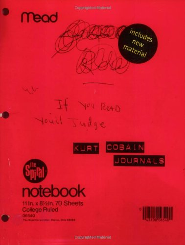 Journals by Kurt Cobain