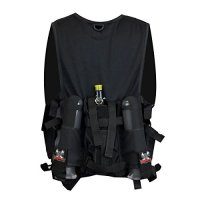 Maddog Sports Attack Tactical Paintball Vest with Tank and ...