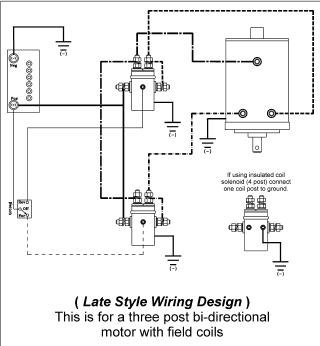 warn solenoid wiring diagram 2005 nissan murano parts motor selection confusion with mower conversion - diy electric car forums