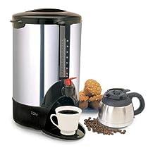Maxi-Matic CCM-07X Elite Cuisine 40-Cup Coffee Urn, Chrome