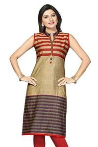 Amazon.com: Indian Kurti for Women Best Cotton Long Tunic ...