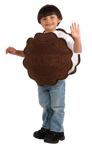 Rubie's Costume Trick Or Treat Sweeties Creamy Cookie Costume, Brown, Infant