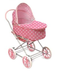 Toy Baby Carriage: Toy Baby Carriage : Badger Basket Polka ...