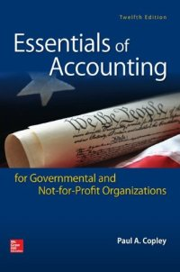 78025818 - Essentials of Accounting for Governmental and Not-for-Profit Organizations