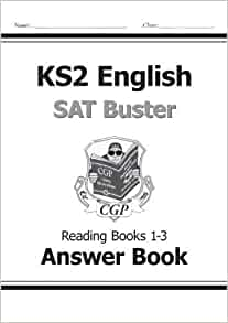 KS2 English SAT Buster Reading Answers (for Books 1-3) by