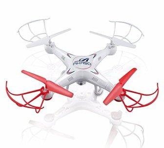 AKASO X5C - Drone Cuadricóptero con Cámara HD, Modo sin Cabeza ,...