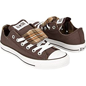 Women's Shoes, CONVERSE Chuck Taylor All Star Dble Tongue Womens Shoes - Brown