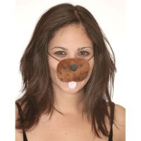Brown Dog Nose Mask Halloween Costume Accessory ...