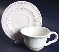 Amazon.com | American Atelier Baroque Flat Cup & Saucer ...