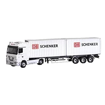 Amazon.com: Italeri Actros with 2 x 20' Containers Trailer