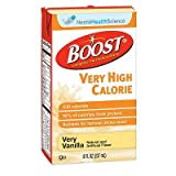 Boost VHC Vanilla, Very High Calorie 8 oz, Case of 27