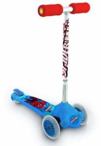 Mondo-18395-Twist-Roll-Spider-Man-Ultimate-Monopattino-3-Ruote
