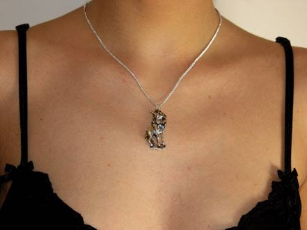 beautiful unicorn necklaces
