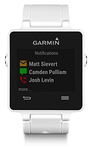 Garmin Vivoactive Sports SmartWatch (White) w/ Garmin Vivoactive Replacement Band...