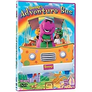 Barney's adventure bus cover
