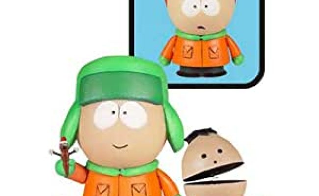 Amazon South Park Series 2 Kyle With Ike W Afro