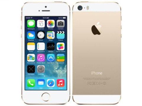 【海外版SIMフリー】Apple iPhone5S 64GB ゴールド【sim free シムフリー】