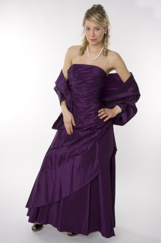 Modell 2047 Abendkleid lang, schulterfrei