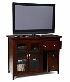 Convenience Concepts Designs2Go Sierra Highboy TV Stand for Flat Panel TV