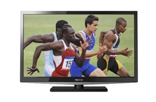 Toshiba 26EL933G 66 cm (26 Zoll) LED-Backlight-Fernseher, Energieeffizienzklasse A (HD-Ready, DVB-T/-C, CI+) schwarz