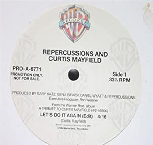 Amazon.com: Repercussions And Curtis Mayfield: Let's Do It