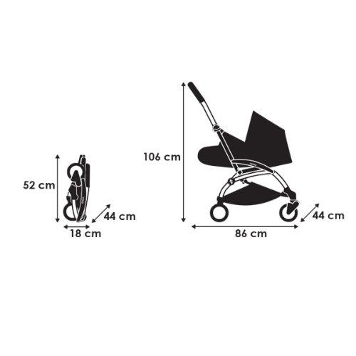 Baby Zen YoYo 0+ and 6+ Black/Grey • Baby Safety Shop