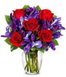 Involvement Flowers Stunning Rose Bouquet - Theshopstation Same Day Flower Delivery Fresh Flowers Orchids - Wedding Flowers - Birthday Flowers - Send Flowers - Iris Bouquets