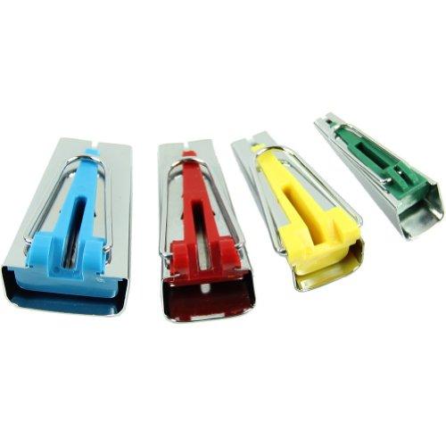 バイアステープメーカー 6mm 12mm 18mm 25mm 4サイズ 1セット