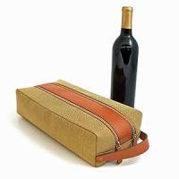 Amazon.com: Wine Holder - Two Bottle Wine Caddy - Saddle ...