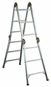 Louisville Aluminum Articulated Folding Ladder 13-Foot, Duty Rating ...