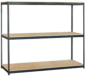 Amazoncom Salsbury Industries Solid Shelving Unit 96