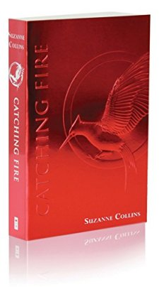 Catching Fire (The Second Book of The Hunger Games): Foil Edition by Suzanne Collins| wearewordnerds.com