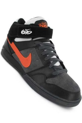 NIKE 6.0 Schuh zoom mogan mid 2 black total orange dk grey Gr. 10/44