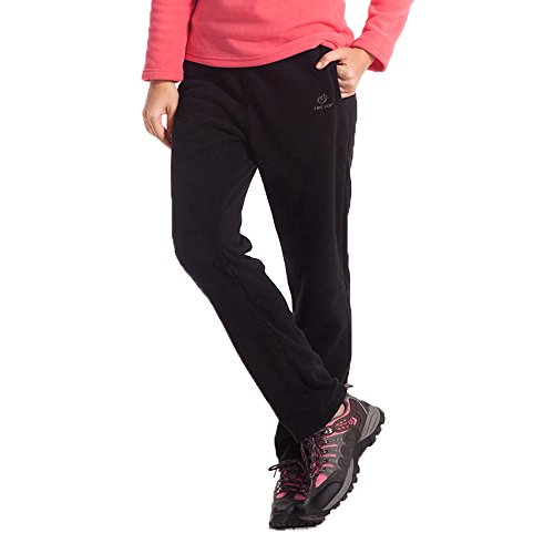 Tofern Damen/Mädchen Hose Fleecehose Jogginghose anti-Pilling warm Gummiband Outdoor Laufen Rennen Radsport