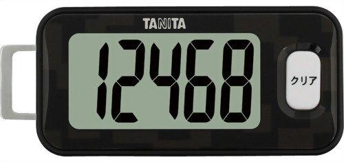 タニタ(TANITA) 3Dセンサー搭載歩数計 黒 FB-731-BK