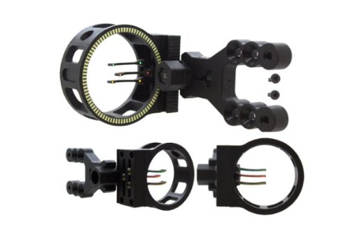 SAS 3 Pin Fiber Optics Archery Bow Sight
