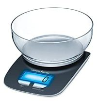 Health Sense Chef-Mate Digital Kitchen Scale (Black ...