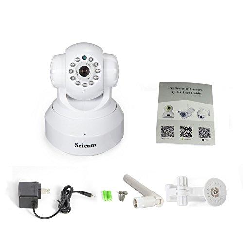 White Sricam PAN Tilt Onvif Hd 720p 1mp Megapixel Wifi