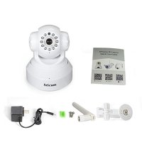 White Sricam PAN Tilt Onvif Hd 720p 1mp Megapixel Wifi ...