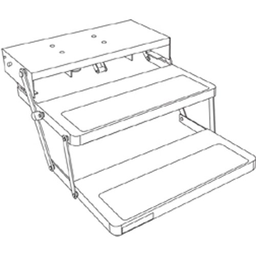 Kwikee 903209025 32 Series Electric Double Step