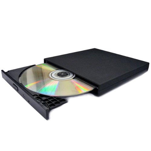 NEW Slim USB 2.0 External Slim USB 2.0 CD-ROM Drive for all Laptop notebook