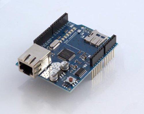 Arduinoイーサネットシールド(microSDスロット付)
