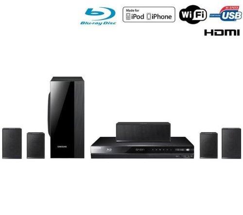 Samsung HT-D4500/EN 5.1 Blu-ray-Heimkinosystem (1000 Watt, WLAN ready, DLNA, USB 2.0) schwarz