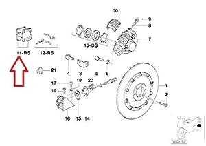BMW Genuine Disk brake rear Brake pads kit for R65 R80