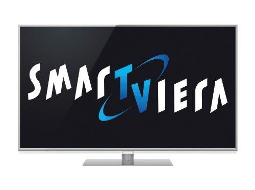 Panasonic TX-L47DT50E 119 cm (47 Zoll) 3D LED-Backlight-Fernseher, Energieeffizienzklasse A+ (Full-HD, 1600 Hz bls, DVB-S/T/C, Smart TV) Aluminium