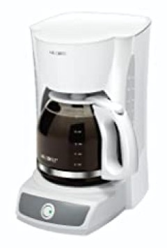Mr. Coffee CG12 12-Cup Switch Coffeemaker, White
