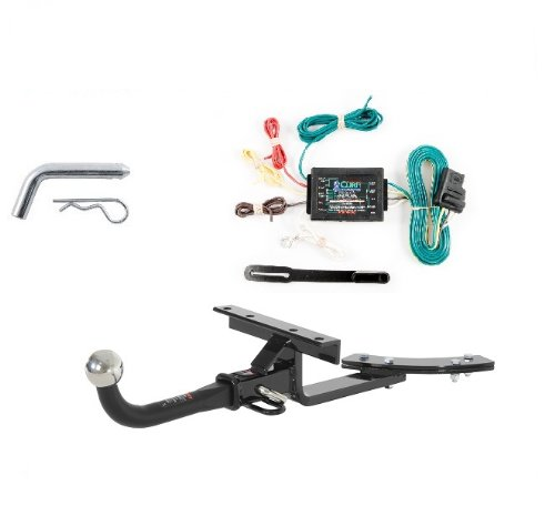 Curt 112372 56175 Trailer Hitch Wiring and Tow Package