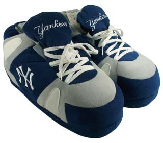 New York Yankees UNISEX High-Top Slippers - Large