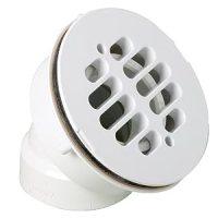Amazon.com: Canplas 322542W 45 Degree Offset Shower Drain
